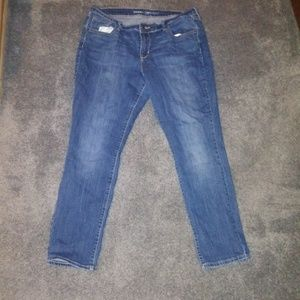Old Navy Curvy Straight Leg Jeans